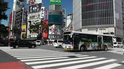 Tokyo Shibuya Japan 08 Stock Video Footage
