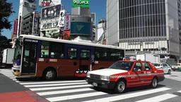 Tokyo Shibuya Japan 08 Footage