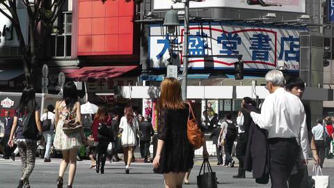 Tokyo Shibuya Japan 10 Stock Video Footage