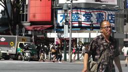 Tokyo Shibuya Japan 10 Footage