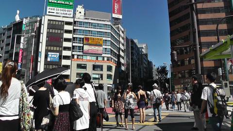 Tokyo Shibuya Japan 14 Stock Video Footage