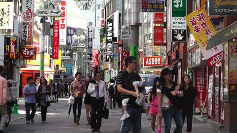 Tokyo Shibuya Japan 19 Stock Video Footage