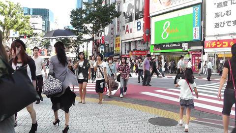 Tokyo Shibuya Japan 23 Stock Video Footage