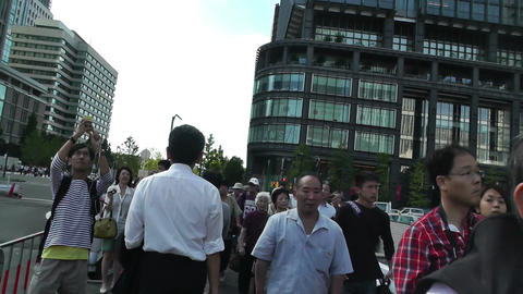 Tokyo Station Japan 08 steady slowmotion Stock Video Footage