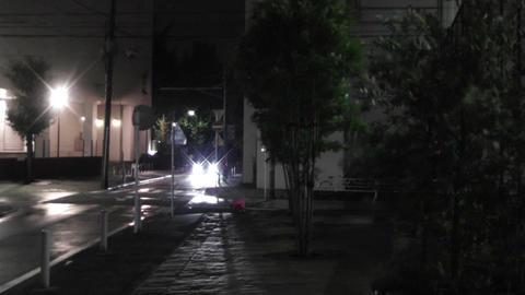 Typhoon in Yokohama Japan 04 handheld Footage
