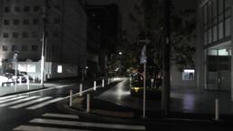 Typhoon in Yokohama Japan 08 handheld Stock Video Footage