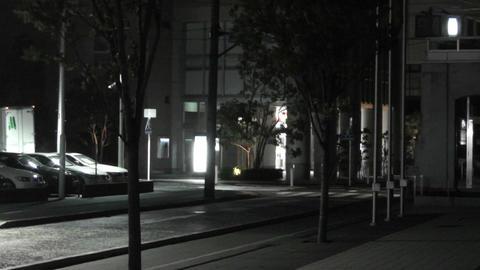 Typhoon in Yokohama Japan 12 handheld Stock Video Footage