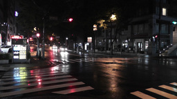 Typhoon Prewind in Yokohama Japan 01 handheld Stock Video Footage