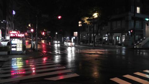 Typhoon Prewind in Yokohama Japan 01 handheld Footage