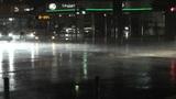 Typhoon Prewind in Yokohama Japan 03 handheld Footage
