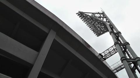 Yokohama Baseball Stadium 01 Stock Video Footage