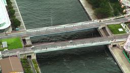 Yokohama Aerial Japan 07 Footage