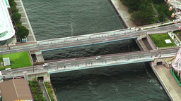 Yokohama Aerial Japan 07 Stock Video Footage