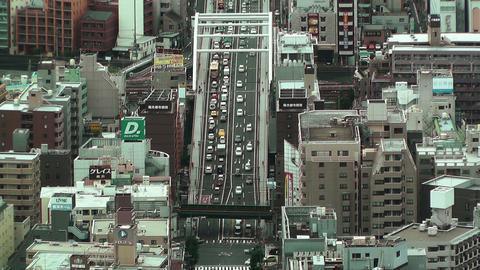 Yokohama Aerial Japan 11 Stock Video Footage