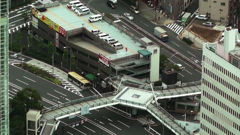 Yokohama Aerial Japan 20 Stock Video Footage