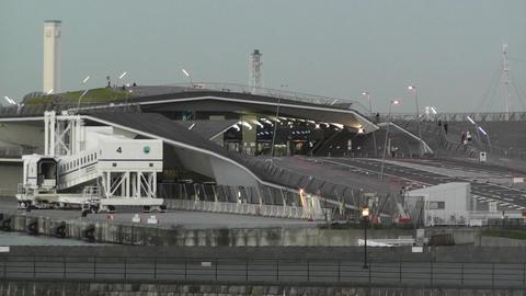 Yokohama Port Japan 04 Stock Video Footage
