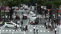 Yokohama Street Japan 05 Footage