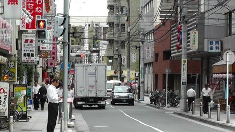 Yokohama Street Japan 09 Stock Video Footage