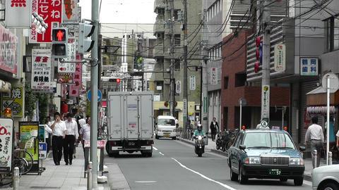 Yokohama Street Japan 09 Footage
