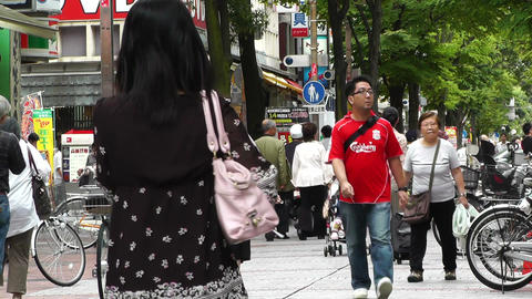 Yokohama Street Japan 03 Stock Video Footage
