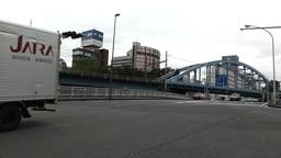Yokohama Traffic Japan Stock Video Footage