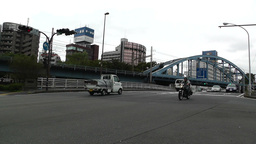Yokohama Traffic Japan Stock Video Footage