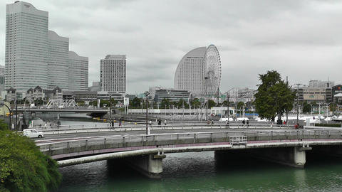 Yokohama Minatomirai Japan Stock Video Footage