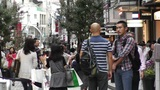 Yokohama Shopping Street Japan 02 Footage