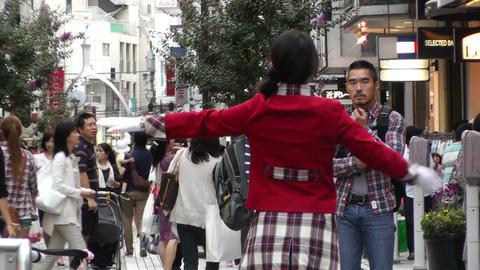 Yokohama Shopping Street Japan 02 Footage