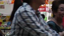 Yokohama Chinatown Japan 24 store Footage