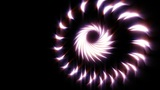 Looping Abstract Animated Background - Purple Stock Video Footage
