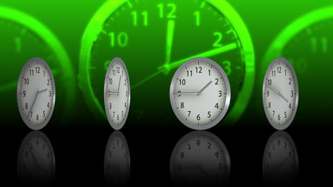 Passing Time Background - Clock 74 (HD) Stock Video Footage