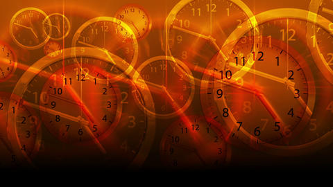 Time Flies Background - Clock 78 (HD) Stock Video Footage