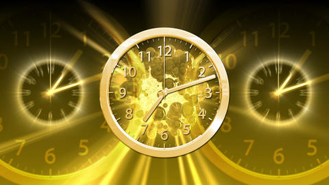 Passing Time Background - Clock 82 (HD) Stock Video Footage