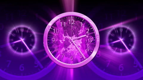 Passing Time Background - Clock 84 (HD) Stock Video Footage