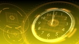 10 Seconds To 12 - Hi-tech Clock 88 (HD) stock footage