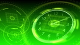 Time Flies - Hi-tech Clock 92 (HD) Animation
