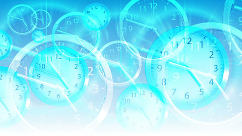 Time Flies Background - Clock 94 (HD) Stock Video Footage