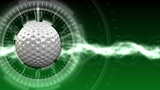 Golf Ball Background 02 (HD) stock footage