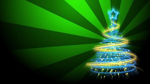 Christmas Tree Background - Merry Christmas 71 (HD) Animation