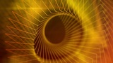 Martha - Abstract Golden Lines Video Background Loop Animation