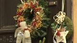 Christmas wreath Footage