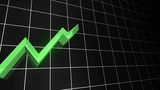 3D Growing Line Graph (Loopable) Animation