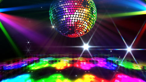 Mirror Ball 2 x 3 DF Amr HD Stock Video Footage