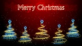 Christmas Trees Background - Merry Christmas 47 (HD) Animation