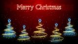 Christmas Trees Background - Merry Christmas 47 (HD) Animation