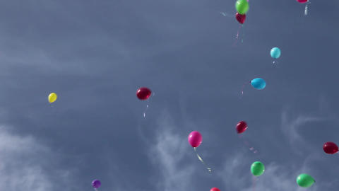balloons Stock Video Footage