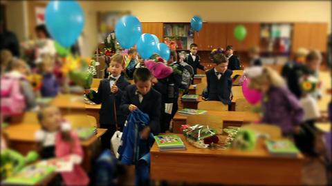 schoolchildren Stock Video Footage