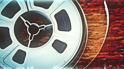 Vintage audio reel HD stock footage Footage