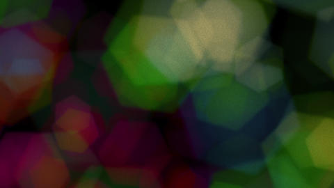 Hexagons Bokeh Colored Animation Background Logo Animation